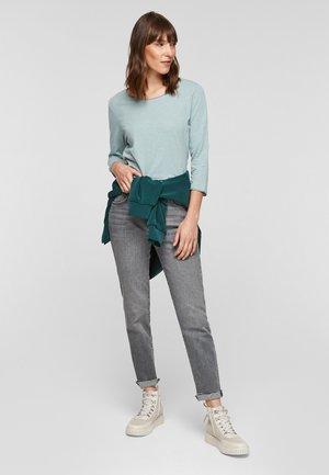 LOCKERES 3/4-ARM - Long sleeved top - aqua blue