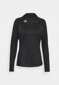 adidas Golf - CLOLDREADY MOCK - Top sdlouhým rukávem - black - 4
