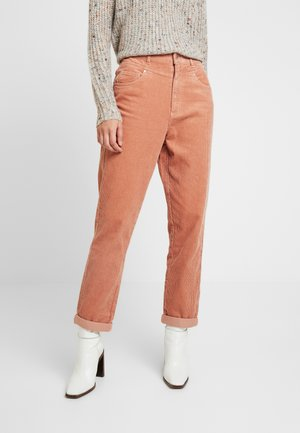 MOM TROUSER - Trousers - pink