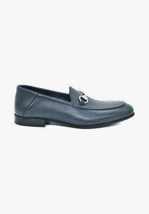 HAND MADE GENUINE - Slip-ons - royal blue
