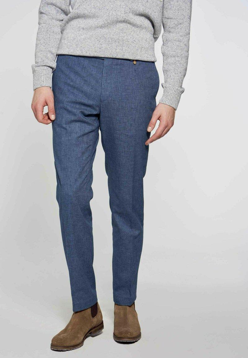 MDB IMPECCABLE - Suit trousers - blue