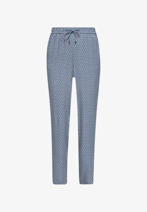 BROEKEN - Trousers - blue embroidery