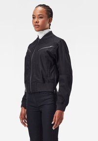 G-Star - FLIGHT BOMBER - Bomber Jacket - pitch black - 2