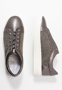 Bugatti - ELEA - Mocassins - dark grey/metallics - 3