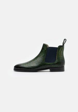 SUSAN - Ankle boots - prato/navy
