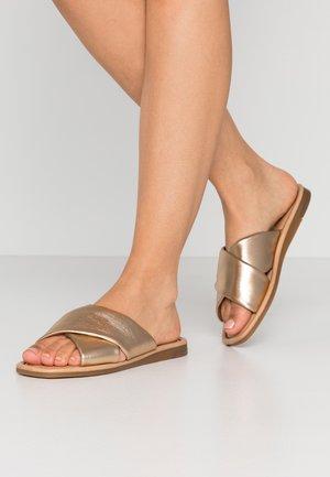 PSAUDREY  - Pantofle - gold