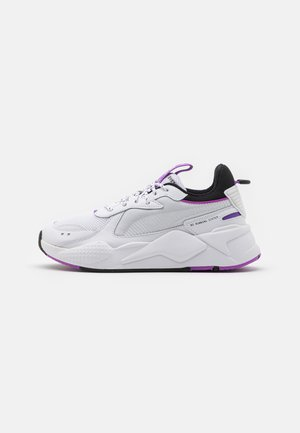RS-X CORE UNISEX - Trainers - white/purple glimmer