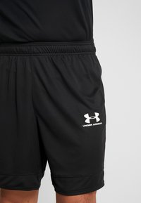 Under Armour - CHALLENGER SHORT - Korte sportsbukser - black/white - 4