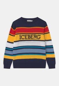 Iceberg - MAGLIONE GIROCOLLO - Jumper - dark blue - 0