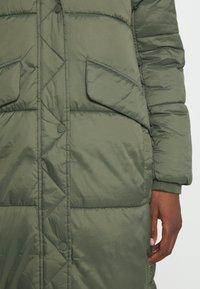 edc by Esprit - COAT - Winter coat - khaki green - 5
