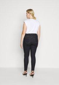 JUNAROSE - by VERO MODA - JRZEROPERNILLE  - Jeans Skinny Fit - dark blue denim - 2