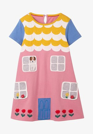 MIT HAUSAPPLIKATION - Day dress - formica pink