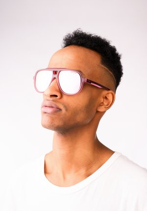 ST SUNGLASS - Sunglasses - violet/pink
