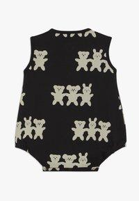 Turtledove - BESTIES BUBBLE ROMPER BABY - Dupačky na spaní - black/white - 1