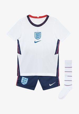 ENGLAND ENT LK NK BRT KIT HM SET - Sportovní kraťasy - white/royal