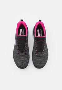 Skechers Wide Fit - SUMMITS - Zapatillas - black/pink/purple - 5