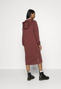 Noisy May - NMHELENE DRESS - Day dress - hot chocolate - 2