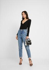 Even&Odd - BODYSUIT BASIC - T-shirt à manches longues - black - 1