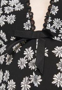 Alexa Chung - LONG SLEEVE DRESS - Freizeitkleid - black/off white - 5