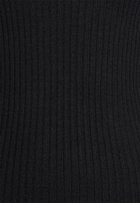 Selected Femme Petite - SLFCOSTINA ROLLNECK - Jumper - black - 2