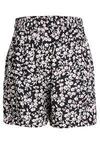 WE Fashion - MET STREEPDESSIN - Shorts - dark grey - 4
