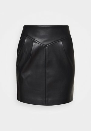 ONLCAMILLA SKIRT PETIT - Mini skirt - black