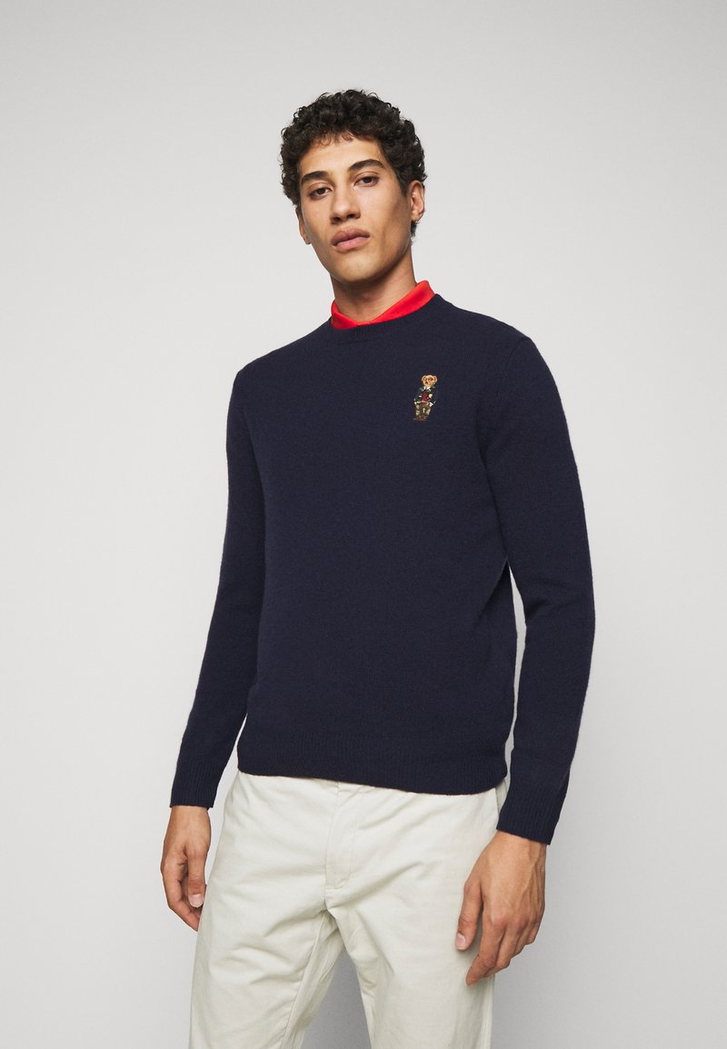 Polo Ralph Lauren - Strikpullover /Striktrøjer - hunter navy