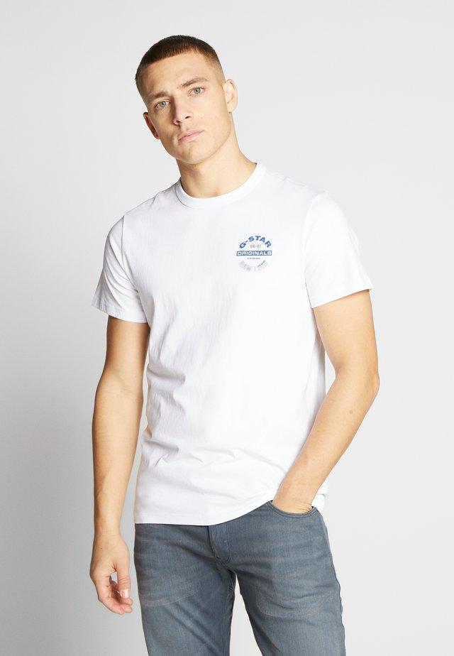ORIGINALS LOGO GR - T-shirt print - white