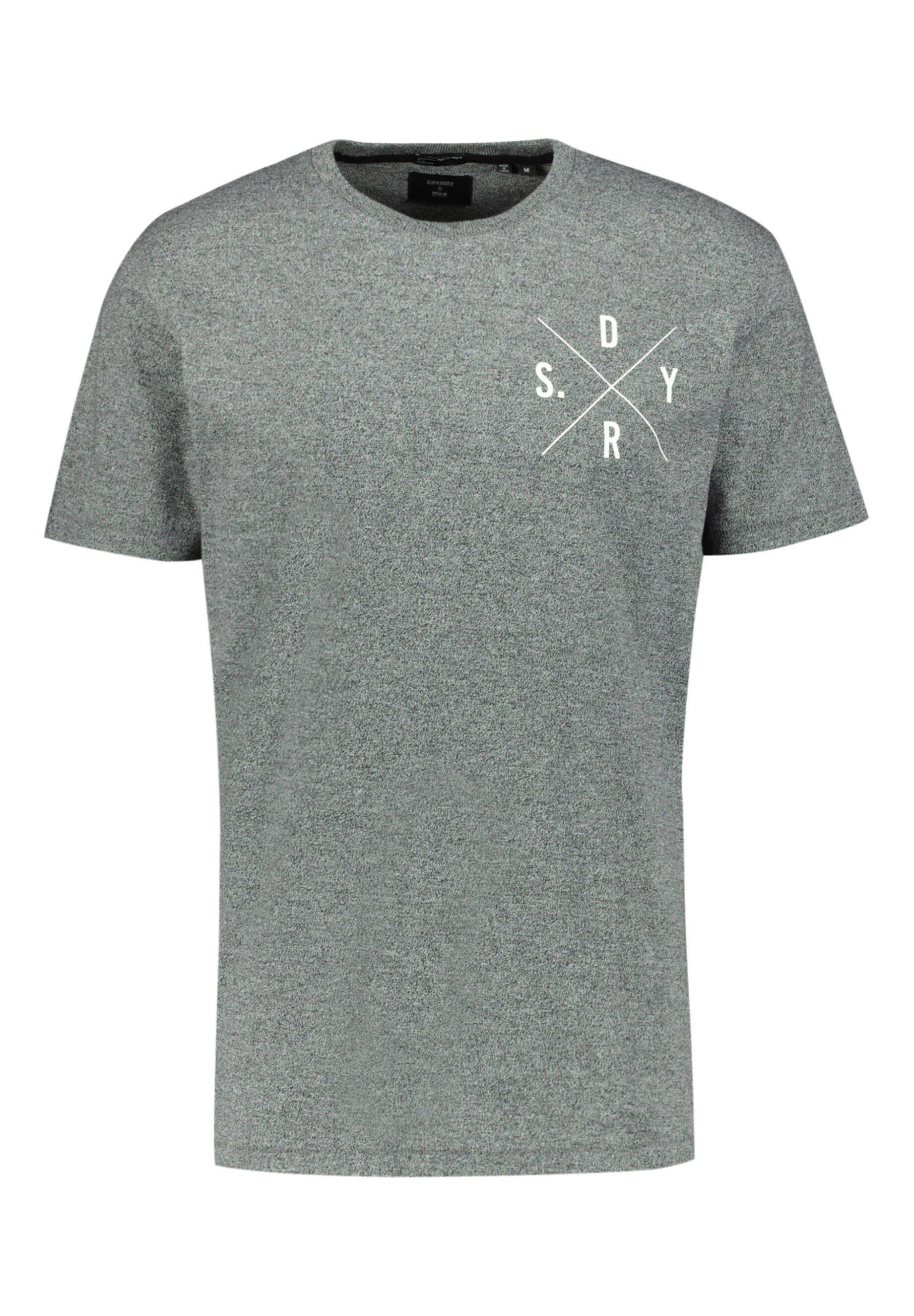 Herren T-Shirt print - grau