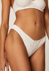 OYSHO - Bikini bottoms - white - 0