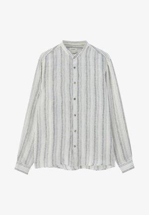 Shirt - metallic grey