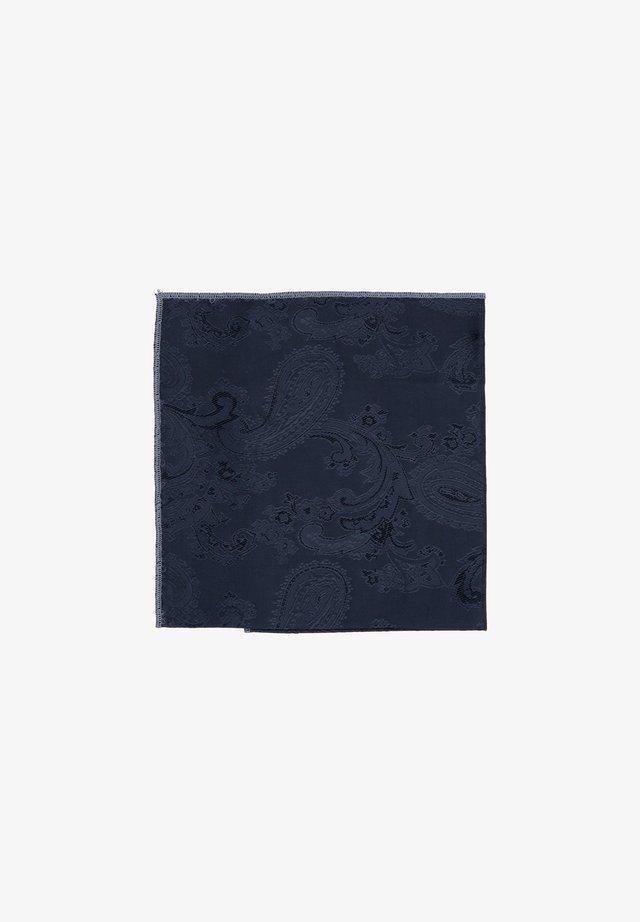 SHELBY - Pocket square - schwarz