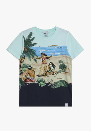 TEE WITH ALL OVER PLACED PRINT - Triko spotiskem - multi-coloured