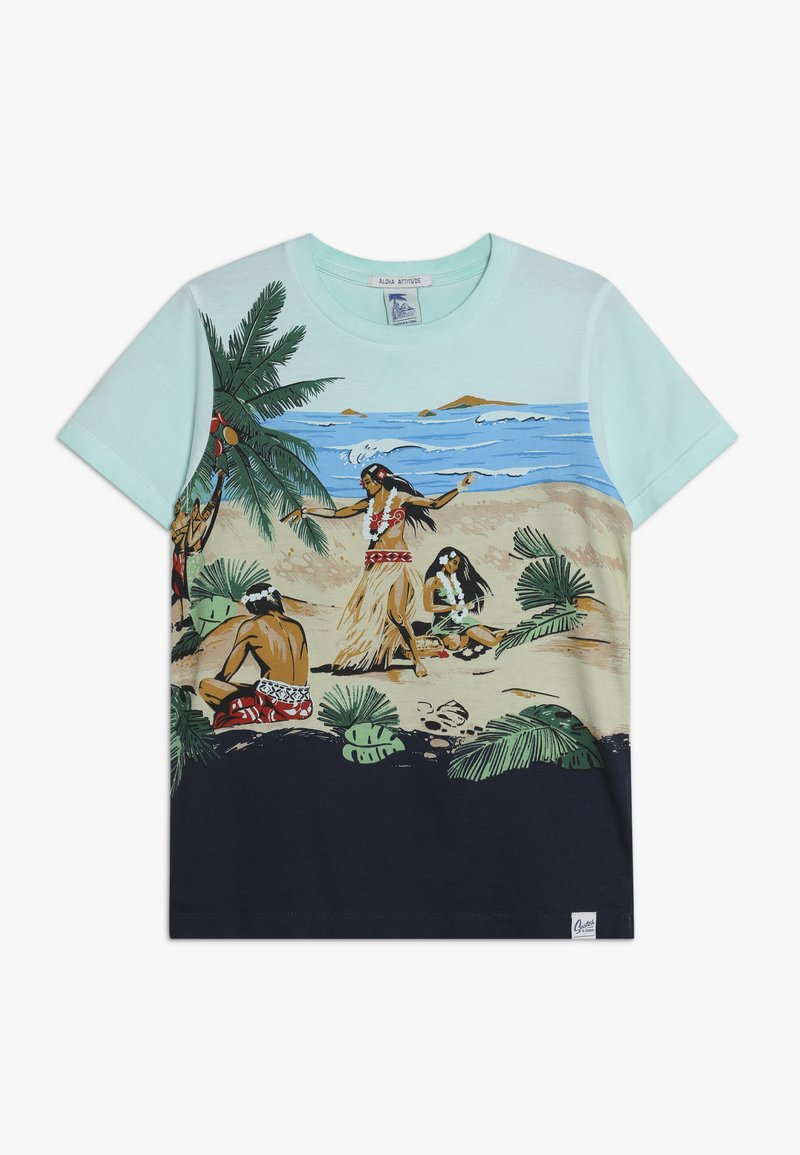 Scotch & Soda - TEE WITH ALL OVER PLACED PRINT - T-shirt med print - multi-coloured