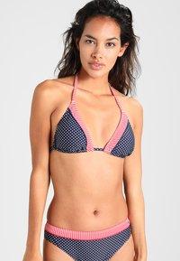 s.Oliver - Bikini top - navy/white - 0