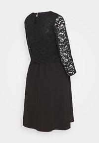 Attesa Maternity - CORTO - Vestito elegante - black - 1