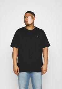 Calvin Klein - LOGO - T-shirt - bas - black - 0