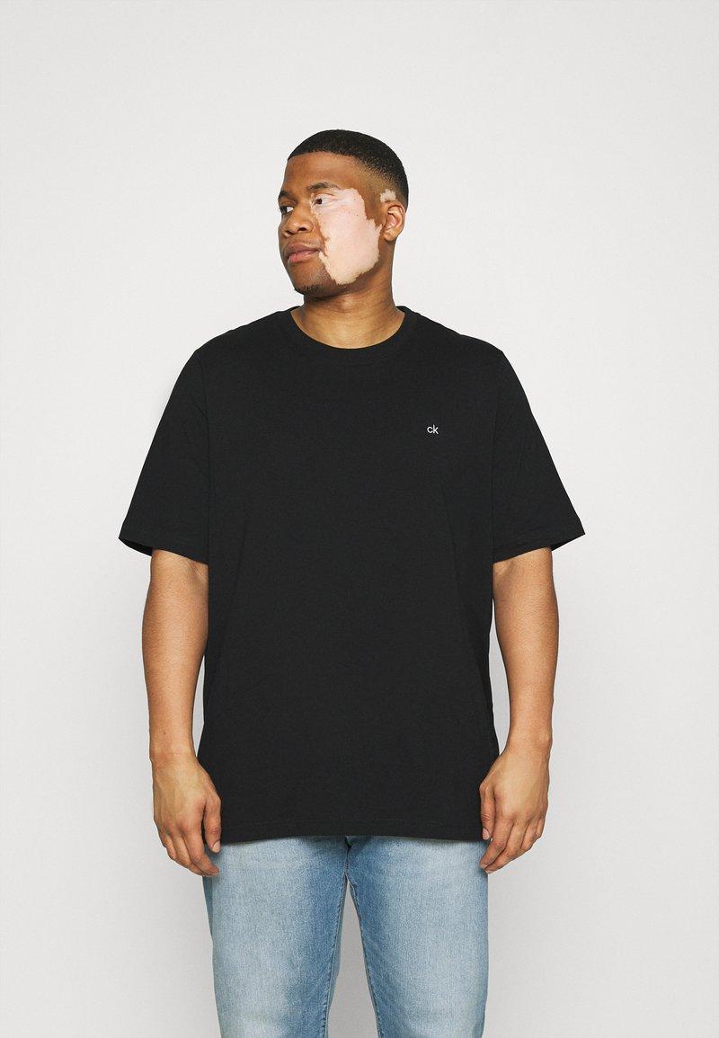 Calvin Klein - LOGO - T-shirt - bas - black