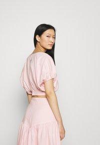 Mossman - THE DAY BREAK - Basic T-shirt - pink - 2