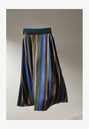 Pleated skirt - light blue