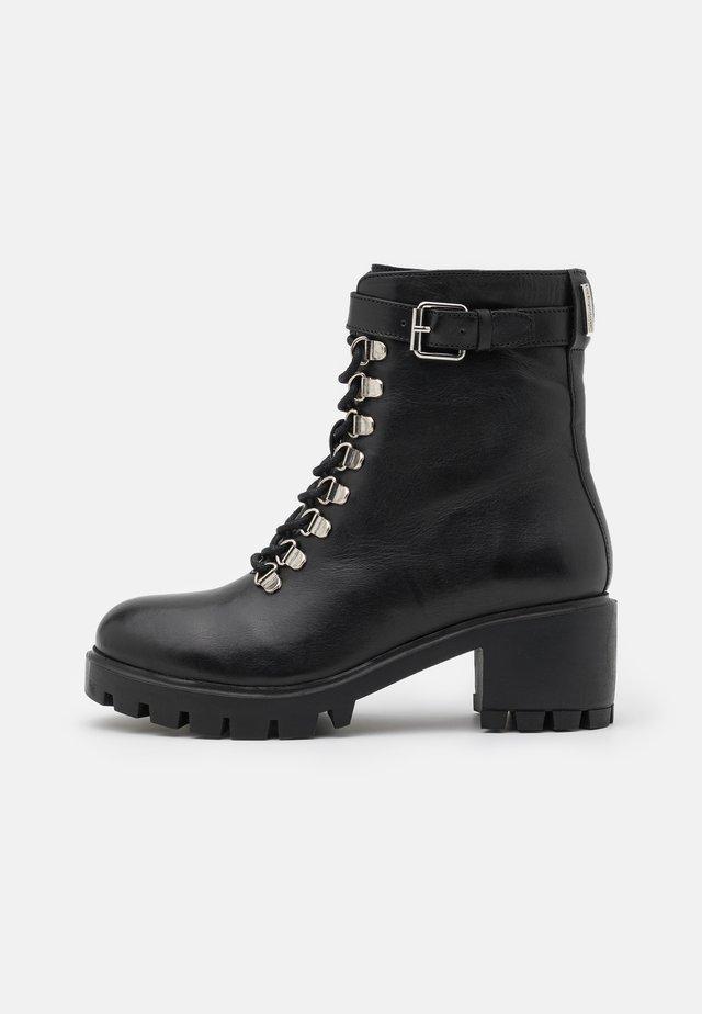 ZANGE - Lace-up ankle boots - noir