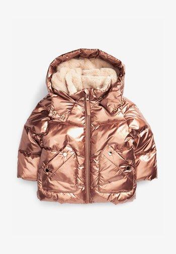 Zimní bunda - gold