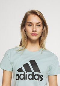 adidas Performance - BOS TEE - Print T-shirt - mint - 3