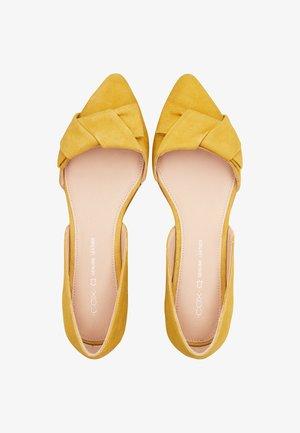 TREND - Ballet pumps - gelb