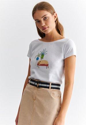 ALBINA  - T-shirt print - white
