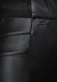 Street One - Leather trousers - schwarz - 3