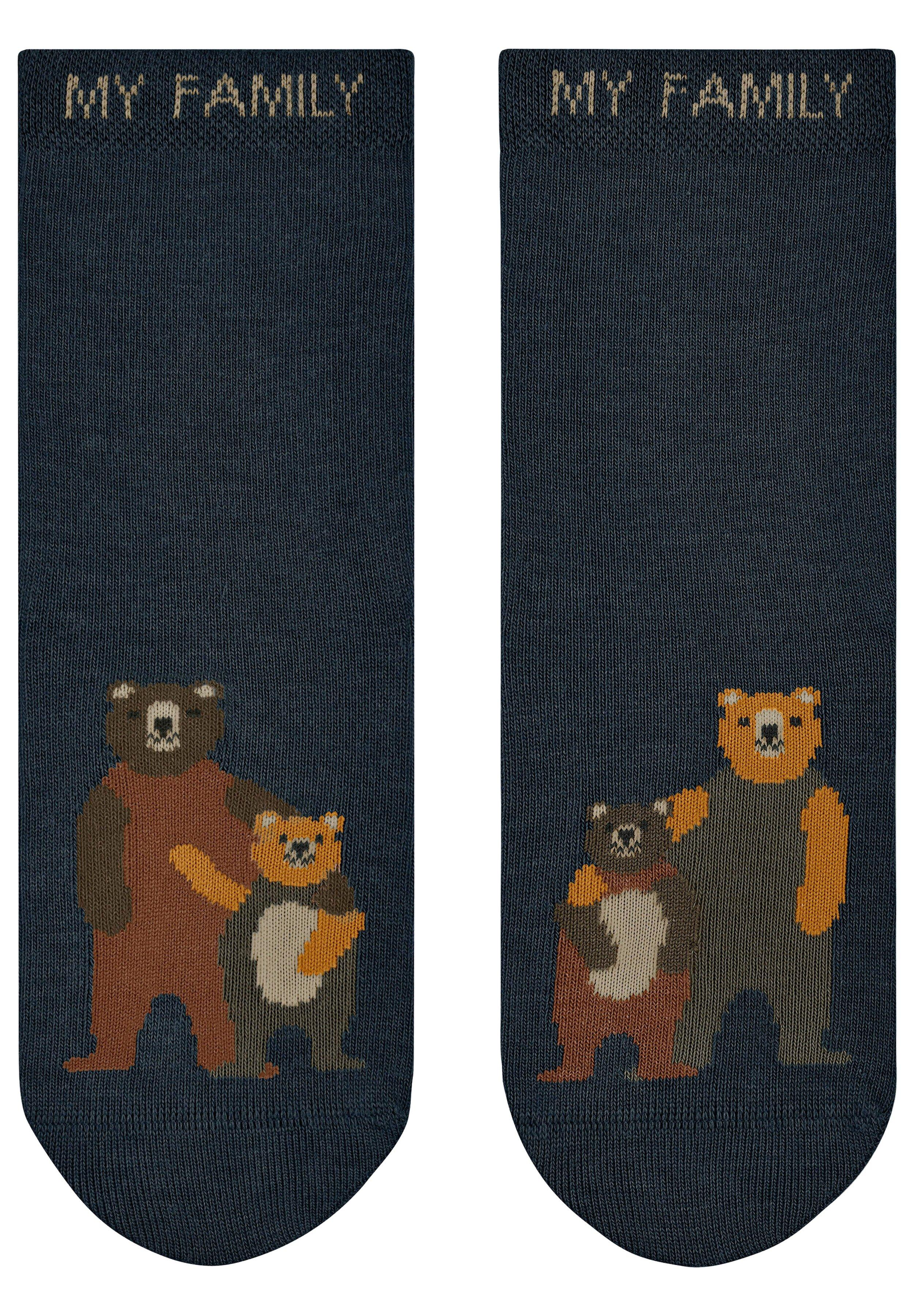 Enfant BEAR FAMILY - Chaussettes de sport - marine