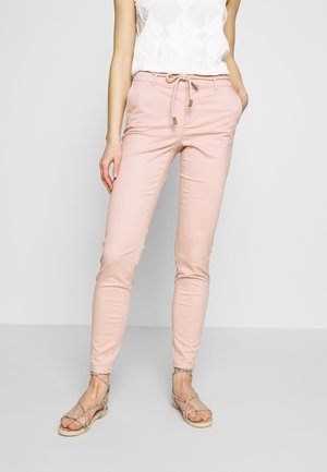 ONLMAUDE BONACO CHINO PANT - Trousers - misty rose