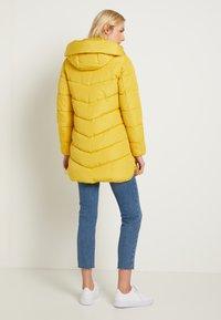 TOM TAILOR - WINTERLY PUFFER COAT - Winter coat - california sand yellow - 3