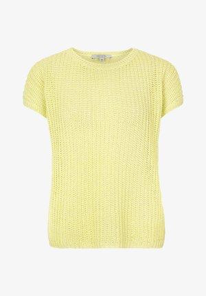 Basic T-shirt - lemon